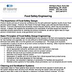 Food Safety Design